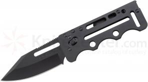 SOG Access Card 2.0 (Tactical Black) 2.75 inch VG10 Steel Blade
