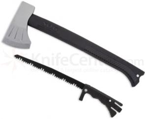 SOG Backcountry Axe 16 inch Overall Length with Hidden Saw, Zytel Handles