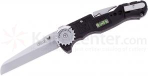 SOG FF-01 Contractor 2x4 Folding Knife 3 inch Plain Blade and Other Tools, GRN Handles