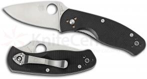 Spyderco C136GP Persistence Folding Knife 2-3/4 inch Plain Blade, G10 Handles