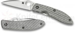 Spyderco C159GFP Air by Gayle Bradley Folding Knife 2.56 inch CPM-M4 Satin Plain Blade, Glass Fiber Handles