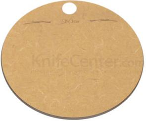 St. Croix Small Round Quick Chop Cutting Board, 7-1/2 inch Diameter
