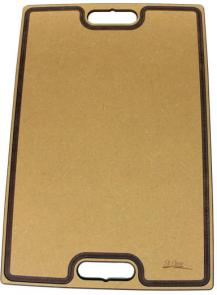 St. Croix Carving Board with Grooves and Handles, 15-1/2 inch x 23-1/2 inch