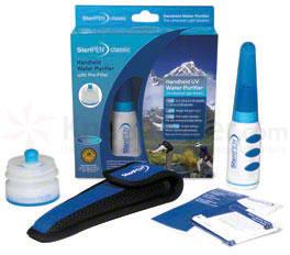 SteriPEN Classic Handheld UV Water Purifier with Pre-Filter SPPF-RP