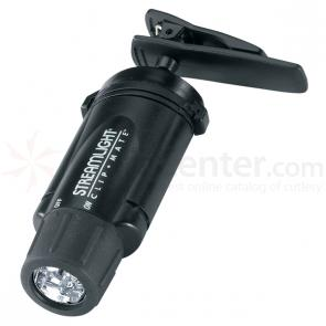 Streamlight Clipmate, Green LED, Black Body, with Batteries