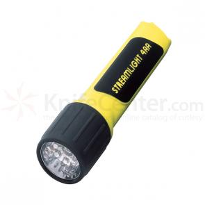 Streamlight ProPolymer 4AA w/White LEDs, Batteries Included, Yellow