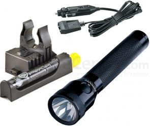 Streamlight Stinger Rechargeable Xenon Flashlight, DC Steady Charger, PiggyBack Holder