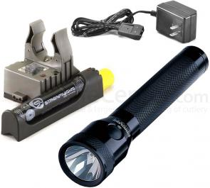 Streamlight Stinger Rechargeable Xenon Flashlight, AC Fast Charger PiggyBack Holder