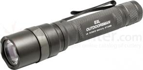 SureFire E2L Outdoorsman Dual-Output LED Flashlight, 125 Max Lumens