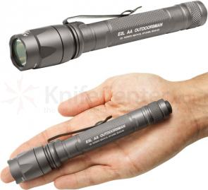 SureFire  E2L AA Outdoorsman Dual-Output LED Flashlight, 80 Max Lumens