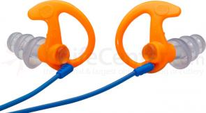 SureFire EP5 Hearing Protectors Sonic Defenders Max, Medium, Orange, 25 Pairs