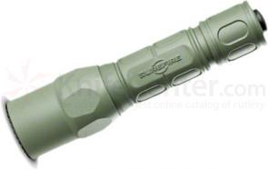 SureFire G2X Pro Dual-Output LED Flashlight, 320 Max Lumens, Forest Green