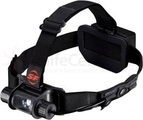 SureFire Saint LED Headlamp, 100 Max Lumens, Dual-Fuel Battery Pack