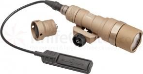 SureFire M300B Mini Scout Light LED WeaponLight, Desert Tan, 200 Lumens