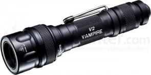 SureFire V2 Vampire Dual-Output Multi-Spectrum LED/IR Flashlight, 150 Max Lumens