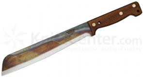 Svord Golok British Army Pattern Machete 11 inch Carbon Steel Blade, Hardwood Handle, Leather Sheath