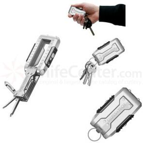 Swiss+Tech Transformer Xi 12-in-1 Key Ring Tool Screwdriver Set with Work Light