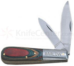 Barlow Pocket Knife with 3-1/2 inch Colorwood Handle