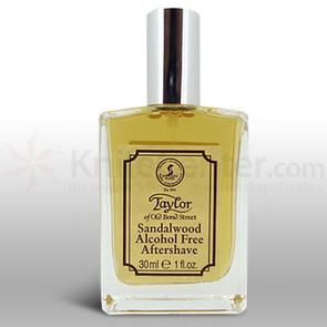 Taylor of Old Bond Street Luxury Sandalwood Aftershave Lotion Spray 1 oz (30ml), Ideal for Travel