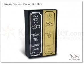 Taylor of Old Bond Street Luxury Sandalwood and Mr Taylor Shaving Cream Gift Box