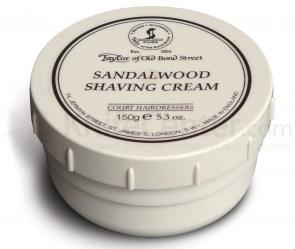 Taylor of Old Bond Street Sandalwood Shaving Cream 5.3 oz (150g)