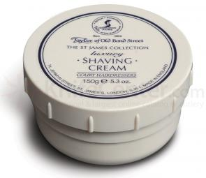 Taylor of Old Bond Street The St James Collection Luxury Shaving Cream 5.3 oz (150g)