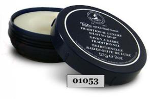 Taylor of Old Bond Street Sandalwood Shave Soap in Travel Container 2 oz. (57g)