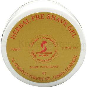 Taylor of Old Bond Street Herbal Pre-Shave Gel 1.06 fl oz (30ml), Ideal for Travel