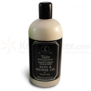 Taylor of Old Bond Street Jermyn Street Collection Bath and Shower Gel 16.9 oz (500ml)