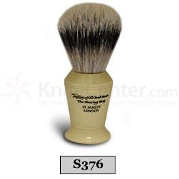 Taylor of Old Bond Street S376 Super Silvertip Badger Shaving Brush, Medium, Vase Shaped Handle