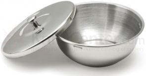 Thiers-Issard Stainless Steel Shaving Bowl with Cover