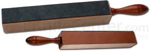 Thiers Issard 4-Sided Paddle Straight Razor Strop 8-1/2 inch x 1-1/2 inch