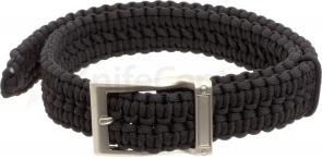 Timberline Paracord Survival Belt, Black, Large (5103)