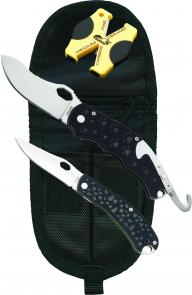 Timberline Tim Wegner  inchSimba inch &  inchChui inch Folding Hunter Set, D2 Tool Steel Blades, Nylon Sheath