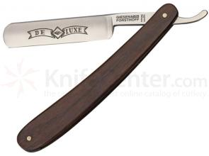 Timor Straight Razor, 5/8 inch Carbon Steel Blade, Rosewood Handles