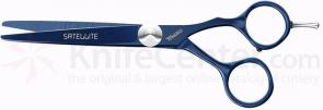 Tondeo Satellite 5.5 Offset Scissors, Deep Blue Finish