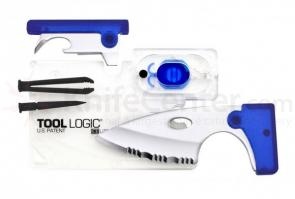 Tool Logic ICE Companion with LED Lite, Clear/Blue (ICC2B)