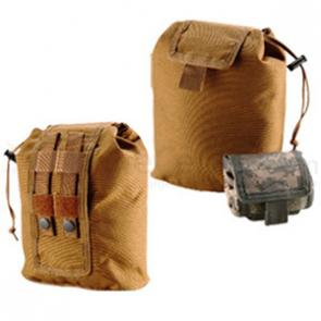 T.O.P. Gear Rolling Multi-Purpose Storage Pouch in Coyote Tan Color