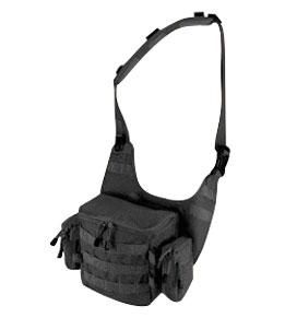 T.O.P. Gear Modular Bandolier/Shoulder Carry Utility Pouch, Black
