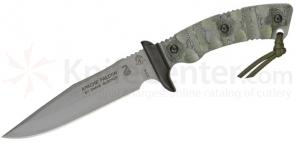 TOPS Knives Apache Falcon Fixed 6-1/4 inch 1095 Carbon Blade, Rocky Mountain Micarta Handles, Nylon Sheath