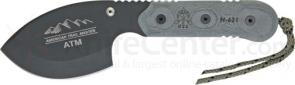 TOPS Knives 4 inch American Trail Maker with Black Micarta Handles