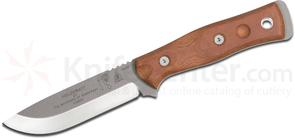 TOPS Knives BOB Brothers of Bushcraft Fieldcraft Fixed 4.75 inch 154CM Blade, Tan Canvas Micarta Handles, Kydex Sheath