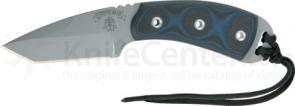 TOPS Knives 3-3/8 inch Blue Coyote Tanto Point with Blue G-10 Handles