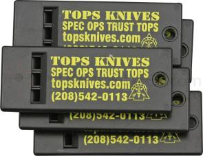 TOPS Knives Survival Whistles, 5-Pack