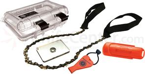 UST Ultimate Survival Deluxe Survival Kit, Clear Case