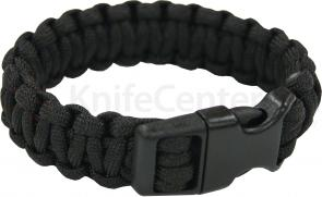 UST Ultimate Survival Paracord Survival Bracelet, Black (20-295BB-20)