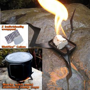UST Ultimate Survival WetFire Stove Ultralight, All-Purpose Stove