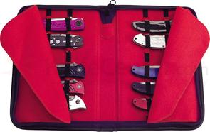 United Cutlery Small Knife Storage Case, Holds Approximately 16 Pocket Knives
