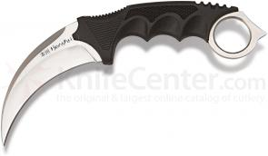 United Cutlery Honshu Kerambit (Karambit) 4 inch Satin Blade, Leather Boot Sheath