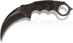 United Cutlery Honshu Karambit 4 inch Black Blade, Shoulder Harness, Kydex Sheath